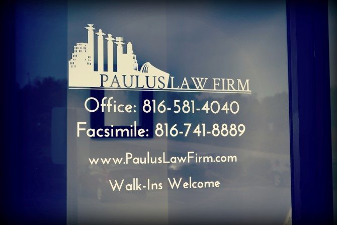 Paulus Law Firm Contacts Kansas City MO